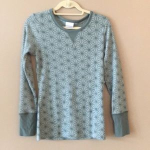 Columbia gray green shirt size small NWT